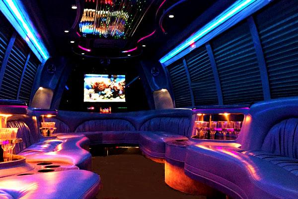 18 passenger party bus rentals Lubbock
