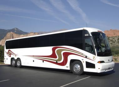 Lubbock 50 Passenger Charter Bus